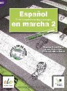 Cover-Bild zu Español en marcha 02. Kursbuch mit Audio-CD von Castro Viúdez, Francisca