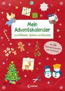 Cover-Bild zu Mein Adventskalender zum Rätseln, Spielen und Basteln von Loewe Weihnachten (Hrsg.)