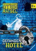 Cover-Bild zu Ravensburger Exit Room Rätsel: Gefangen im Hotel von Scheller, Anne