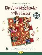 Cover-Bild zu Ein Adventskalender voller Lieder (Buch inkl. CD) von Erkert, Andrea