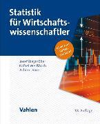 Cover-Bild zu Statistik für Wirtschaftswissenschaftler (eBook) von Weißbach, Rafael