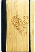 Cover-Bild zu Notizbuch Bambus Herz GVA.NP.105