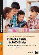 Cover-Bild zu Einfache Spiele für DaZ-Kinder von Salber, Eva