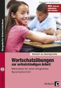 Cover-Bild zu Wortschatzübungen zur selbstständigen Arbeit von Jaglarz, Barbara