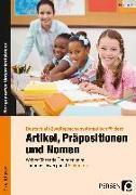 Cover-Bild zu Artikel, Präpositionen und Nomen - Einkaufen 3/4 von Herkt, Nina