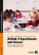 Cover-Bild zu Artikel, Präpositionen und Nomen - Einkaufen 1/2 von Herkt, Nina