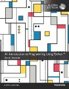 Cover-Bild zu An Introduction to Programming Using Python, eBook, Global Edition (eBook) von Schneider, David I.