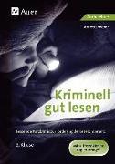 Cover-Bild zu Kriminell gut lesen. 2. Klasse von Weber, Annette