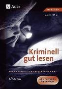 Cover-Bild zu Kriminell gut lesen, Klasse 3-4 von Weber, Annette