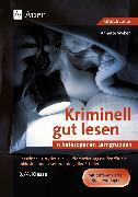 Cover-Bild zu Kriminell gut lesen in heterogenen Lerngruppen 3-4 von Weber, Annette