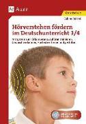 Cover-Bild zu Hörverstehen fördern im Deutschunterricht 3-4 von Reichel, Sabine