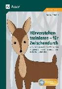 Cover-Bild zu Hörverstehen trainieren - für Zwischendurch von Reichel, Sabine