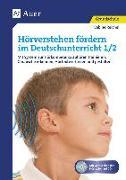 Cover-Bild zu Hörverstehen fördern im Deutschunterricht 1-2 von Reichel, Sabine