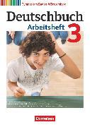 Cover-Bild zu Deutschbuch Gymnasium, Baden-Württemberg - Ausgabe 2012, Band 3: 7. Schuljahr, Arbeitsheft mit Lösungen von Fingerhut, Armin