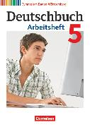 Cover-Bild zu Deutschbuch Gymnasium, Baden-Württemberg - Bildungsplan 2016, Band 5: 9. Schuljahr, Arbeitsheft mit Lösungen von Fingerhut, Armin
