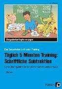 Cover-Bild zu Täglich 5 Minuten Training: Schriftliche Subtraktion von Hohmann, Karin