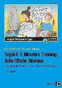 Cover-Bild zu Täglich 5 Minuten Training: Schriftliche Division von Hohmann, Karin