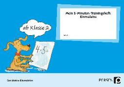 Cover-Bild zu Mein 5-Minuten-Trainingsheft: Einmaleins von Müller, Ellen