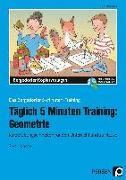 Cover-Bild zu Täglich 5 Minuten Training: Geometrie von Hohmann, Karin