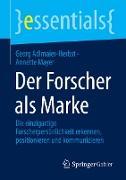Cover-Bild zu Der Forscher als Marke von Adlmaier-Herbst, Georg