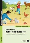 Cover-Bild zu Lernstationen Haus- und Nutztiere von Schub, Christine