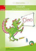 Cover-Bild zu Anton und Zora / Dinoheft - Grafomotorisches Förderheft von Jockweg, Bernd
