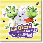 """Cover-Bild zu Die Olchis Magnet """"So viel wie nötig"""" von Dietl, Erhard (Gestaltet)"""