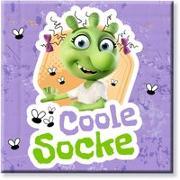 """Cover-Bild zu Die Olchis Magnet """"Coole Socke"""" von Dietl, Erhard (Gestaltet)"""
