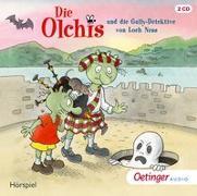 Cover-Bild zu Die Olchis und die Gully-Detektive von Loch Ness von Dietl, Erhard