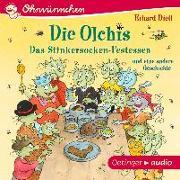 Cover-Bild zu Die Olchis. Das Stinkersocken-Festessen von Dietl, Erhard
