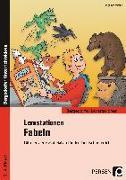 Cover-Bild zu Lernstationen Fabeln von Schmidtke, Inge