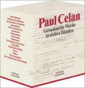 Cover-Bild zu Gesammelte Werke in sieben Bänden von Celan, Paul