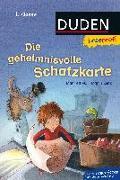 Cover-Bild zu Duden Leseprofi - Die geheimnisvolle Schatzkarte, 1. Klasse von Mai, Manfred