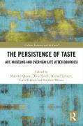 Cover-Bild zu The Persistence of Taste (eBook) von Quinn, Malcolm (Hrsg.)