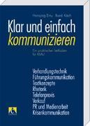 Cover-Bild zu Klar und einfach kommunizieren von Erny, Hansjörg