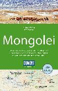 Cover-Bild zu DuMont Reise-Handbuch Reiseführer Mongolei. 1:2'000'000 von Woeste, Peter