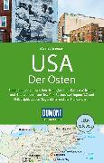 Cover-Bild zu DuMont Reise-Handbuch Reiseführer USA, Der Osten. 1:1'500'000 von Braunger, Manfred
