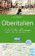 Cover-Bild zu DuMont Reise-Handbuch Reiseführer Oberitalien. 1:500'000 von Nenzel, Nana Claudia