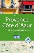 Cover-Bild zu DuMont Reise-Handbuch Reiseführer Provence, Côte d'Azur. 1:300'000 von Simon, Klaus