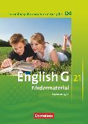 Cover-Bild zu English G 21, Grundausgabe D/Erweiterte Ausgabe D, Band 4: 8. Schuljahr, Fördermaterial, Kopiervorlagen