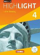 Cover-Bild zu English G Highlight, Hauptschule, Band 4: 8. Schuljahr, Schülerbuch - Lehrerfassung, Kartoniert von Abbey, Susan