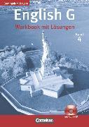 Cover-Bild zu English G, Gymnasium Bayern, Band 4: 8. Jahrgangsstufe, Workbook mit Hör-CD - Lehrerfassung von Abbey, Susan