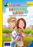 Cover-Bild zu Ein Bolzplatz für alle - Leserabe 3. Klasse - Erstlesebuch für Kinder ab 8 Jahren von Konecny, Jaromir