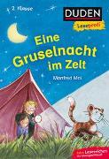 Cover-Bild zu Duden Leseprofi - Eine Gruselnacht im Zelt, 2. Klasse von Mai, Manfred