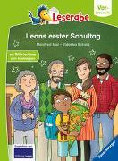 Cover-Bild zu Leons erster Schultag - Leserabe ab Vorschule - Erstlesebuch für Kinder ab 5 Jahren von Mai, Manfred