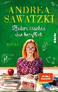 Cover-Bild zu Andere machen das beruflich von Sawatzki, Andrea