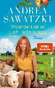 Cover-Bild zu Woanders ist es auch nicht ruhiger von Sawatzki, Andrea
