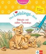 Cover-Bild zu Klett Mein Lieblings-Block Rätseln mit süßen Tierbabys von Vorbach, Britta (Hrsg.)