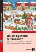 Cover-Bild zu Wer ist eigentlich der Nikolaus? von Vorbach, Britta