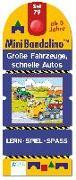 Cover-Bild zu Mini Bandolino Set 79. Große Fahrzeuge, schnelle Autos von Vorbach, Britta